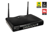Draytek Vigor 2926n Dual WAN Gigabit Broadband Router with Security Firewall, 50x VPN Tunnels, 802.11n WiFi