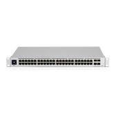 Ubiquiti UniFi 48 port Managed Gigabit Layer2 & Layer3 Switch - 48x Gigabit Ethernet Ports, 4x SFP+ Ports - Touch Display - GEN2