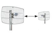 Ubiquiti PtP Bridge Link N 5Ghz 24dBi 100Mbits