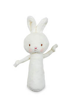 Friendly Chime White Bunny
