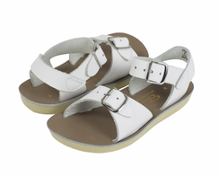 Saltwater Sandals Surfer White (Kid)