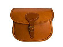Tan Leather, Fast Loader Cartridge Bag - 100 Size
