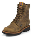 "Justin 440 JMAX 8"" Gaucho Non-Safety Toe"
