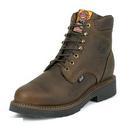 "Justin 437 JMAX 6"" Rugged Bay Gaucho Non-Safety Toe"