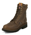 "Justin 444 JMAX 8"" Rugged Bay Gaucho Non-Safety Toe"