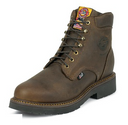 "Justin 439 JMAX 6"" Rugged Bay Gaucho Safety Toe"