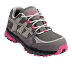 Nautilus 1771 Grey/Pink Women's ESD Athletic Safety Toe