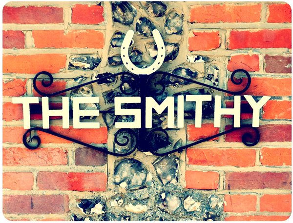 The Smithy sign