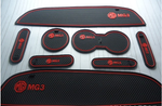 MG3 Rubber Pocket Inserts For Doors-Console-And All Internal Areas In Red