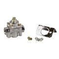 Fuel Pressure Regulator Chrome Plated, 4 1/2-9 psi, Universal