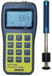 Phase II Portable Hardness Tester with G impact Device PHT-1850 - Brystar Metrology Tools