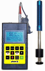 Phase II Portable Hardness Tester with G impact Device PHT-1750 - Brystar Metrology Tools