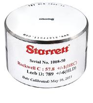 Starrett HT-1300-01 Leeb D Test Block. Brystar Tools