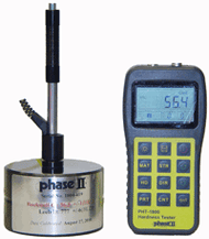 Phase II PHT-1800 Portable Hardness Tester with D Probe. Brystar Metrology Tools.