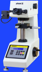 Phase II Vickers Microhardness Tester 900-391C with Auto-Turret. Brystar Metrology Tools.