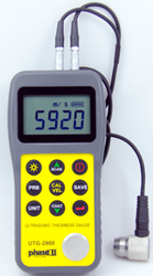 Phase II UTG-2900 Ultrasonic Thickness Gauge. Brystar Metrology Tools.