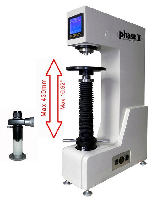 Phase II Large Frame Motorized Digital Brinell Hardness Tester 900-356. Brystar Metrology Tools