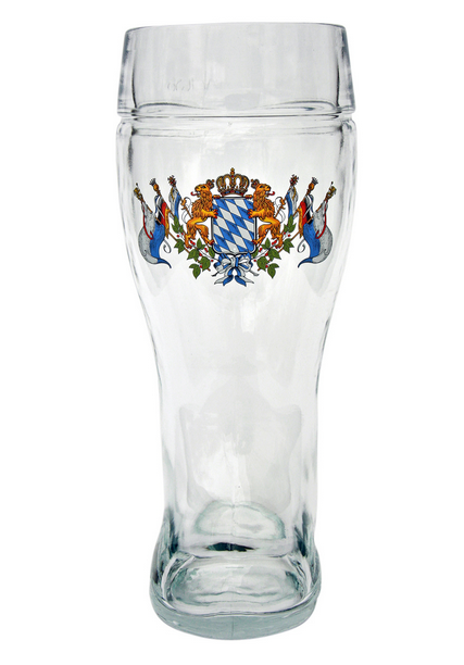 Bavarian German Glass Beer Boot for Sale