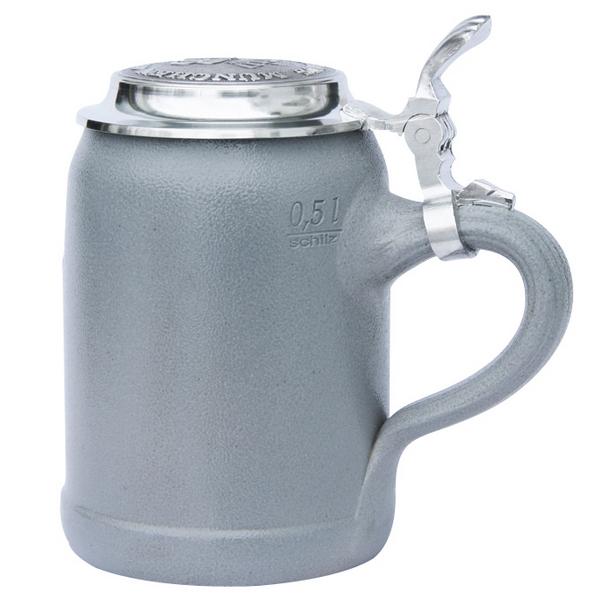 Hofbrauhaus Ceramic Beer Mug with Lid