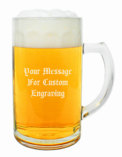 0.5 Liter Custom Personalized Beer Mug