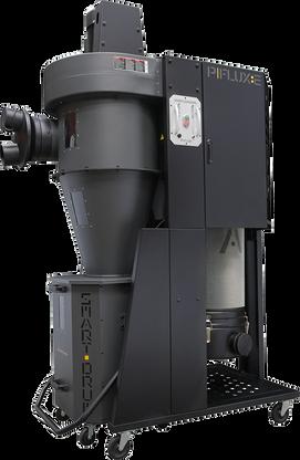 Laguna MDCPF22201 P|Flux 2hp 220v Cyclone  peerless performance. Sporting standard black HEPA filtration