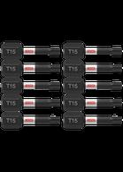 Bosch ITT151B 10 piece Impact Tough 1 In Torx #15 Insert Bits