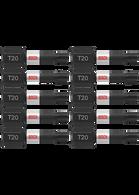 Bosch ITT201B 10 piece Impact Tough 1 In Torx #20 Insert Bits