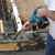 Makita XRV01T 18V LXT® Lithium‑Ion Cordless 4FT Concrete Vibrator Kit (5.0Ah) delivers more run time with maximum vibrations per minute (VPM) for strengthening concrete when running a corded tool is not an option.
