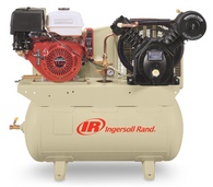 Ingersoll Rand 2475F13GH Truck Mount 2-Stage Gas Driven Reciprocating Air Compressor 13-14 HP