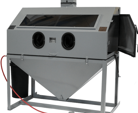 Cyclone FT6035 Top Opening Abrasive Sandblast Cabinet