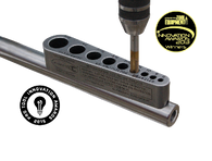 Big Gator Tools STD500NP V-TapGuide® Standard features a precision ground base to assure stability and accurate perpendicular alignment of drill bits on flat surfaces.