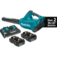 Makita XBU02PT1 – 18V X2 (36V) LXT® Brushless Cordless Blower Kit with 4 batteries
