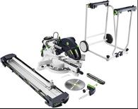 Festool 576862 Kapex 575306 KS 120 REB Sliding Compound Miter Saw Plus Imperial Stand Combo