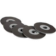 """Porter Cable 77125 9"""" 120G DRYWALL PAD WITH ABRASIVE DISC 5 PACK"""