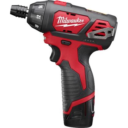 Milwaukee 2401-22 12V M12 1/4 In Hex Screwdriver Kit