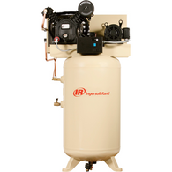Ingersoll Rand 2475N7.5-P 230V 7.5 HP 1 Ph 80 Gallon Reciprocating Air Compressor