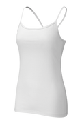 Nicer Tank in White | Wellicious at Fire and Shine | Womens Tanks