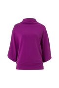 Soft Jumper in Deep Lilac | Wellicious at Fire and Shine | Womens Long-Sleeve Tops