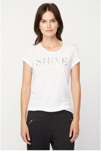 Boy Shine Tee in White | Sundry at Fire and Shine | Womens Tops