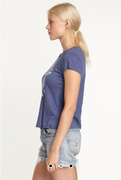 Anchor Boy Tee in Denim | Sundry at Fire and Shine | Womens Tops