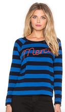 Merci Long-Sleeve Top in Blue | Sundry at Fire and Shine | Womens Long-Sleeve Tops
