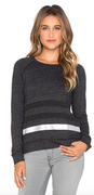 Stripe Long-Sleeve Top in Heather Grey Stripe | Sundry at Fire and Shine | Womens Long-Sleeve Tops