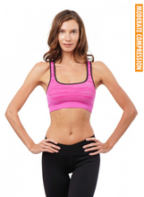 In Route Bra in Pink Wave | Nux at Fire and Shine | Womens Crops