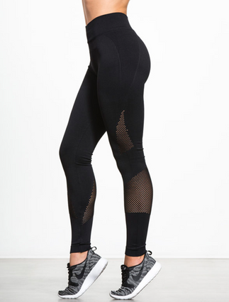 Network Legging in Black | Nux at Fire and Shine | Womens Leggings