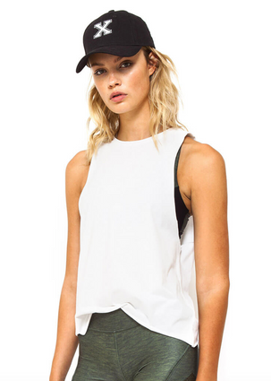 Narrow Muscle Tank | First Base at Fire and Shine | Womens Tanks