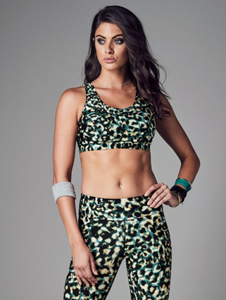 Stop Traffic Crop   Running Bare at Fire and Shine   Womens Crops