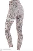 Eden Leggings Pink Snake | Aimn at Fire and Shine | Womens Leggings