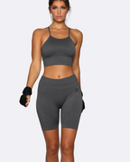 Seamless Crop | Nicky Kay at Fire and Shine | Womens Crops