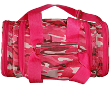 This bag is made of industrial nylon and YKK zippers