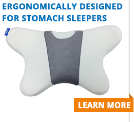 Sleep On Your Stomach With Contour Living S New Pillow